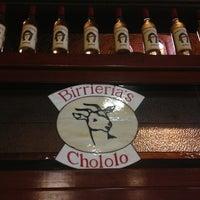 Photo taken at Birriería El Chololo by Alex R. on 6/23/2013