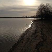 Photo taken at Lake Bonham by Alyssa T. on 4/13/2013