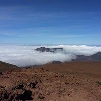 Photo taken at Pu'u 'ula'ula (Haleakalā Summit) by Borislav A. on 5/19/2014
