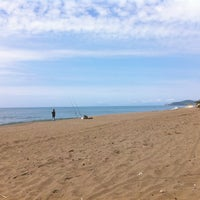 Photo taken at Capezzolo Beach by Sandro B. on 5/7/2013