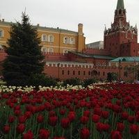 Photo taken at Aleksandrovskiy Garden by Victoria Z. on 5/16/2013
