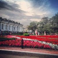 Photo taken at Aleksandrovskiy Garden by алексеев в. on 7/16/2013