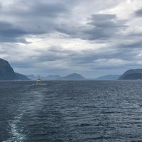 Photo taken at M/S Norangsfjord by Annelien T. on 7/30/2018