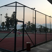 Photo taken at Arif Koçak Tenis Akademi by Celal H. on 8/4/2015