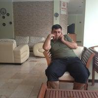 Photo taken at Boraes Hotel by Mehmet B. on 6/22/2013