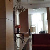 Photo taken at Villa Vergueiro Hotel by Michael M. on 3/22/2015