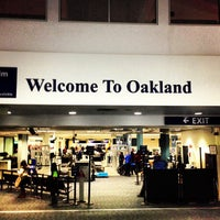 Photo taken at Oakland International Airport (OAK) by Carl M. on 2/24/2013