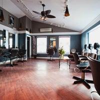 Photo taken at Amber Waves Art of Hair Salon by Amber Waves Art of Hair Salon on 1/17/2013