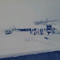 Photo taken at Набережная Воткинского пруда by Dmitry B. on 1/19/2013