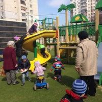 Photo taken at Детская площадка О40 by Karine on 3/19/2015