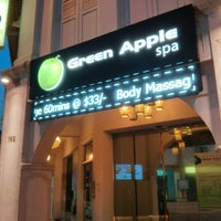 Photo taken at Green Apple Foot Spa by Vikram M. on 7/21/2013