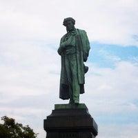 Photo taken at Памятник А. С. Пушкину by Alex G. on 7/1/2013