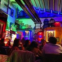 Photo taken at Gramofon Cafe & Bistro by Birtan on 2/16/2013