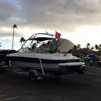 Photo taken at Maunalua Bay Boat Ramp by Kamil . on 2/13/2016