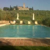 Photo taken at Fattoria Abbazia Monte Oliveto by Francesco P. on 6/19/2013
