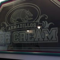 Photo taken at Armadillos Ice Cream Shoppe by David C. on 6/14/2014