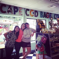 Photo taken at Cape Cod Bagel Cafe by Emily T. on 7/26/2015