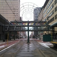 Photo taken at NFTA Metro Rail Church Street Station by Xavier G. on 3/19/2013