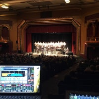 Photo taken at The Paramount Center for the Arts by Adam B. on 4/25/2015