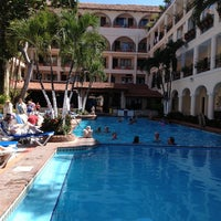 Photo taken at Hotel Playa Los Arcos by Luigi V. on 2/23/2013