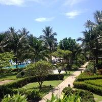 Photo taken at KC Grande Resort & Spa by Yoyo T. on 7/17/2016