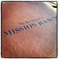 Photo taken at Mission Ranch Restaurant by Michael A. on 10/23/2012