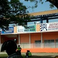 Photo taken at Stadion Krida Rembang by doni p. on 3/6/2013