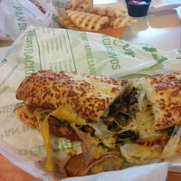 Photo taken at Quiznos Sub by jared r. on 3/28/2015