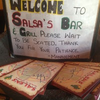 Photo taken at Salsa's Bar & Grill by Tiffany P. on 2/24/2013