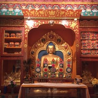 Photo taken at Tibet House US by Bea A. on 12/7/2016