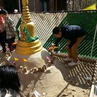 Photo taken at Wat Buddha Thai Thavorn Vanaram by Bea A. on 4/14/2013