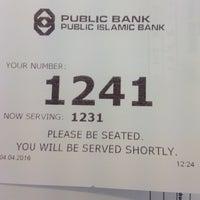 Photo taken at Public Bank Jln Laksamana by Haikal H. on 4/4/2016