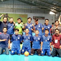 Photo taken at Planet Futsal Yogyakarta by Nanang Haris S. on 2/18/2017