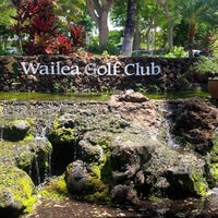 Photo taken at Wailea Golf Club by Pierre-Luc F. on 7/23/2013