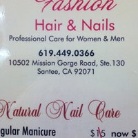Photo taken at Fashion Hair & Nails by Tammy R. on 2/21/2014