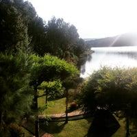 Photo taken at Bunyonyi Overland Resort by Melis E. on 3/7/2015