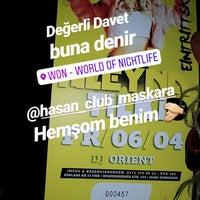 Photo taken at World of Nightlife (WON) by Seda Ses Y. on 4/6/2018