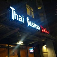 Photo taken at Thai Fusion Bistro by Natalie W. on 11/22/2012