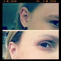 Photo taken at Gibi tatto e piercing by Pitty Karoline S. on 11/16/2012