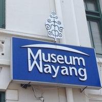 Photo taken at Museum Wayang by wan z. on 3/6/2013