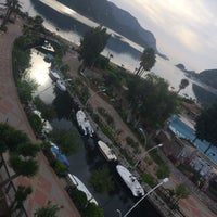Photo taken at Fortuna Beach Hotel by Serdar S. on 4/30/2017