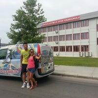 Photo taken at Beden Eğitimi ve Spor Yüksekokulu by Ayse E. on 6/7/2013