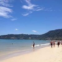 Photo taken at Patong Beach by Svetlana S. on 4/13/2013
