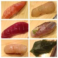 Photo taken at Tanoshi Sushi by Ally R. on 6/14/2013
