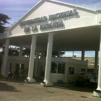 Photo taken at Universidad Nacional de La Matanza (UNLaM) by Tomas T. on 9/12/2013