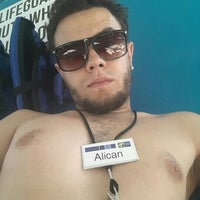 Photo taken at Holiday Inn Express Wisconsin Dells by Alican Ş. on 8/27/2015