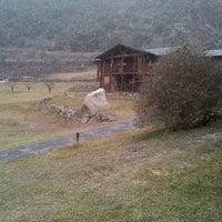Photo taken at Camping Frontera by Jordi S. on 1/18/2014