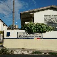 Photo taken at Escola Estadual Cristiano Barbosa e Silva by Anna C. on 3/29/2014