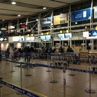 Photo taken at Comodoro Arturo Merino Benitez International Airport (SCL) by Cristi J. on 5/26/2013
