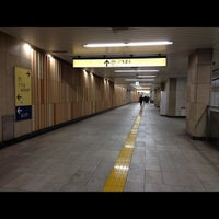 Photo taken at Kita-sando Station (F14) by Masayoshi T. on 11/29/2012